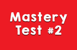 Mastery Test #2